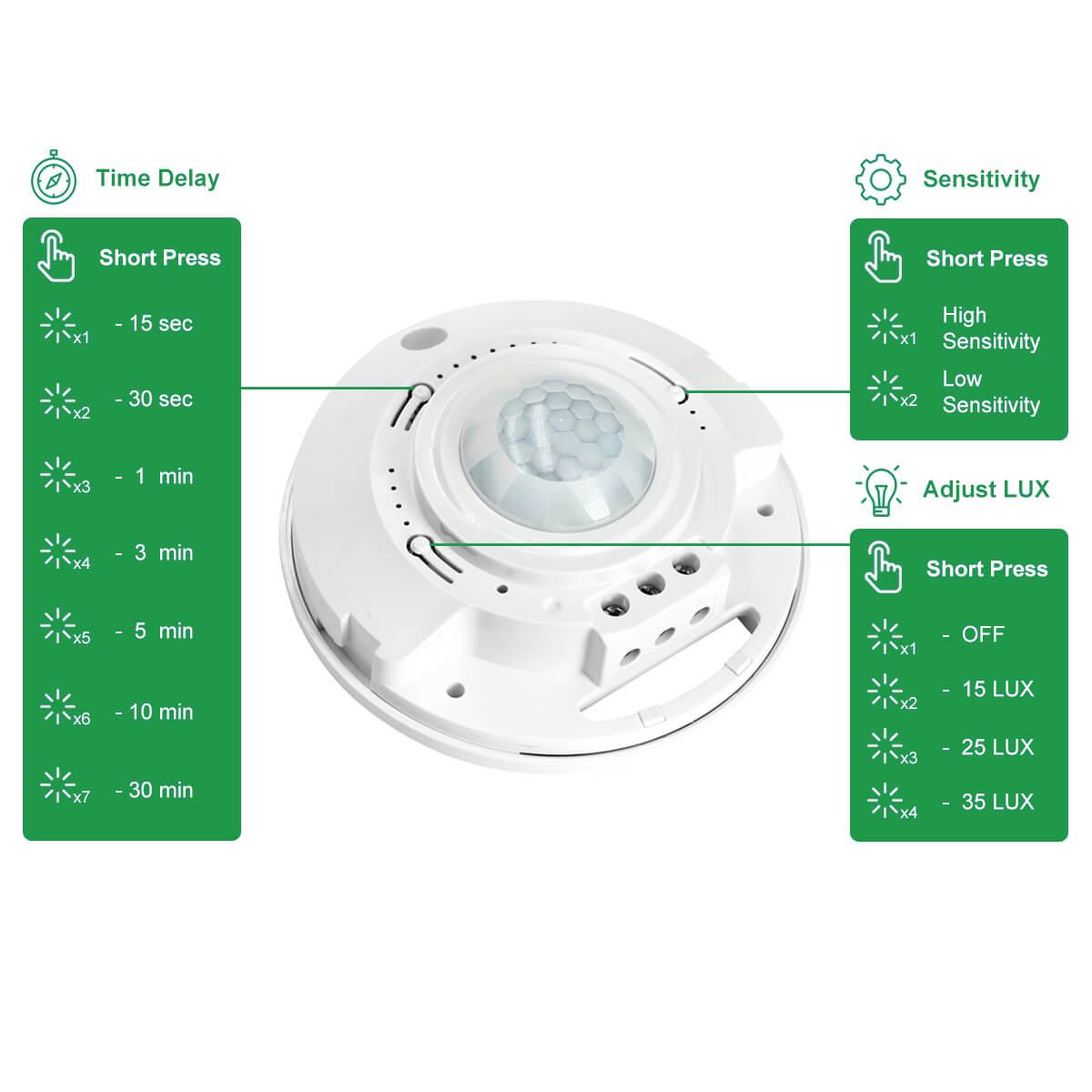 rz036 motion sensor switch manual instruction