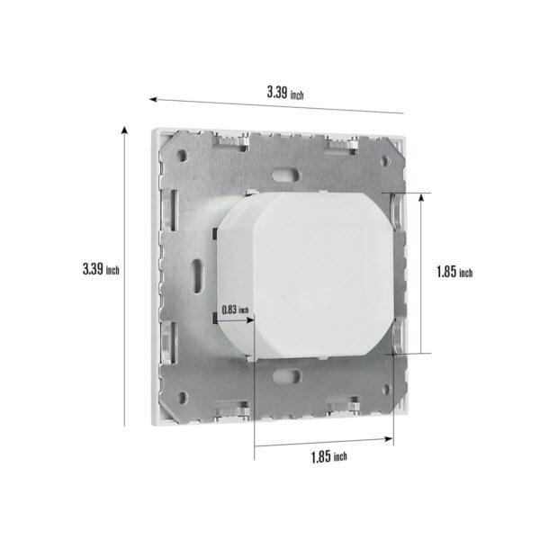 rz023 motion sensor dimension instruction