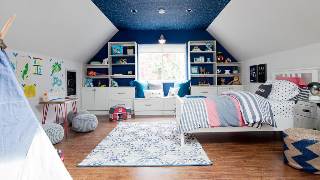 manual mode solution for kids bedroom