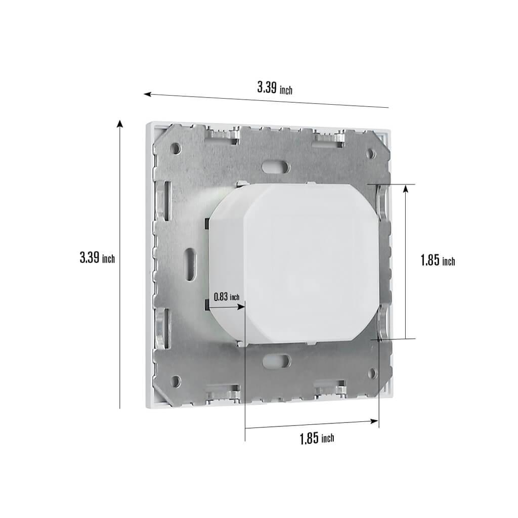 rz023 occupancy vacancy sensor switch dimension